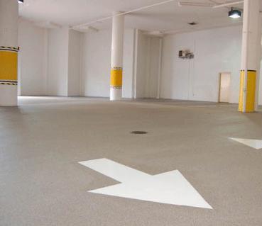 Quartz Garage Flooring