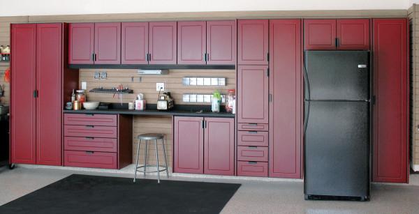 red garage storage cabinets install_06