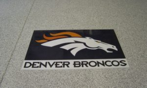 Global Garage Flooring Inlays Denver Broncos