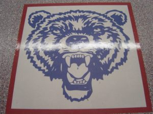 Global Garage Flooring Inlays Bear