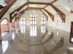 Vaulted ceiling garage remodel