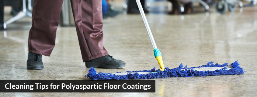 Cleaning Tips for Polyaspartic Floor Coatings