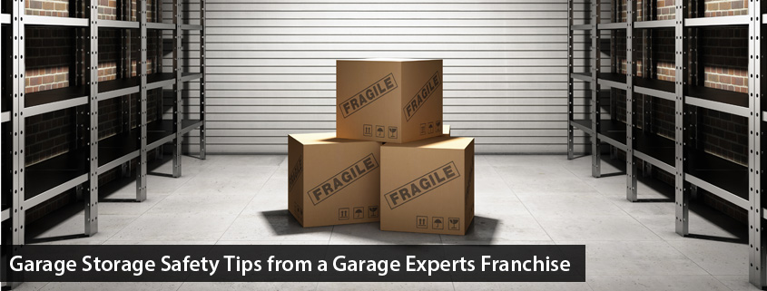 garage storage safety tips